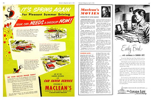 Article Preview: Maclean 's MOVIES, April 1951 | Maclean's