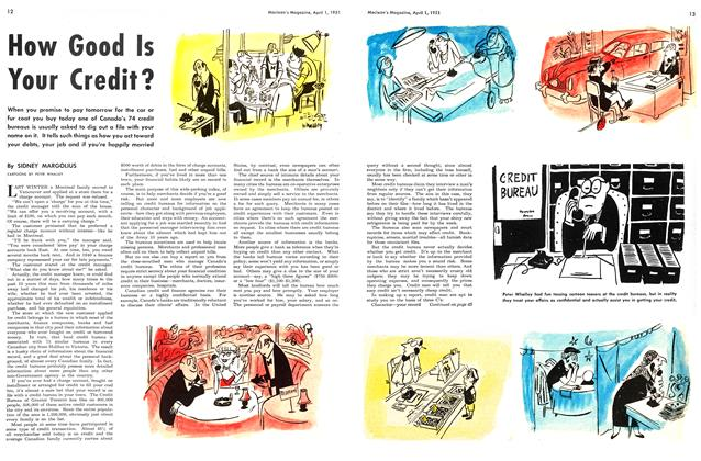Article Preview: How Good Is Your Credit?, April 1951 | Maclean's