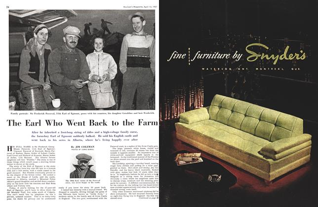 Article Preview: The Earl Who Went Back to the Farm, April 1951 | Maclean's