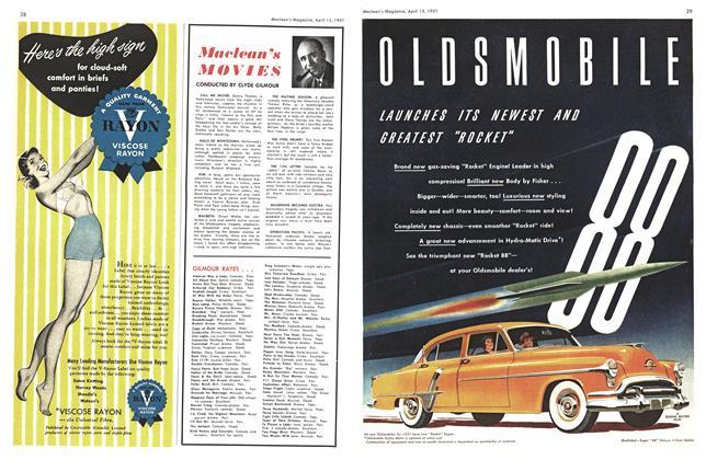 Article Preview: Maclean's MOVIES, April 1951 | Maclean's