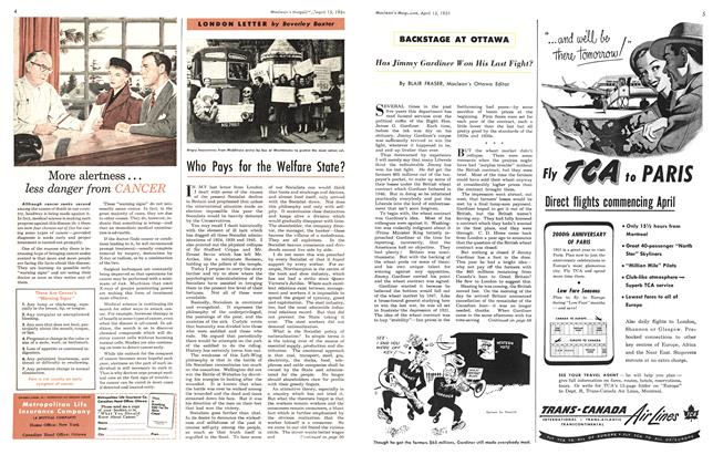Article Preview: Has Jimmy Gardiner Won His Last Fight?, April 1951 | Maclean's