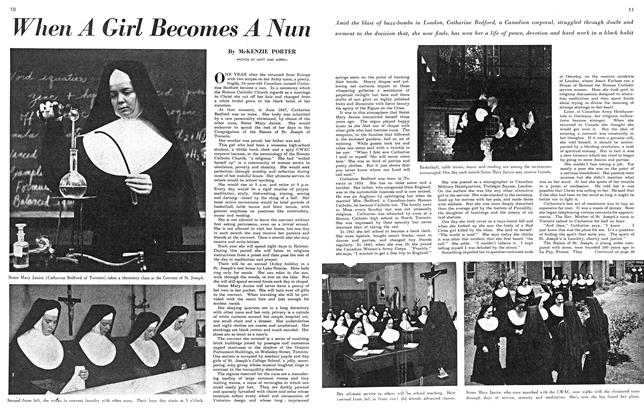 Article Preview: When A Girl Becomes A Nun, April 1951 | Maclean's