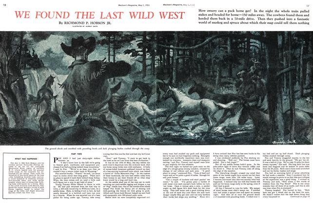 Article Preview: WE FOUND THE WILD WEST, May 1951 | Maclean's
