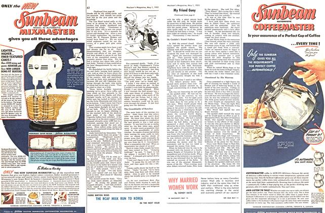 Article Preview: WHY MARRIED WOMEN WORK, May 1951 | Maclean's