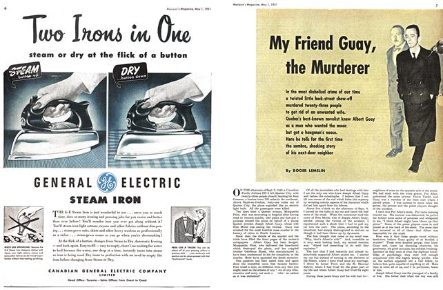 Article Preview: My Friend Guay, the Murderer, May 1951 | Maclean's