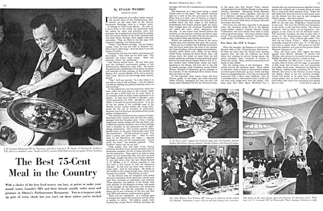 Article Preview: The Best 75-Cent Meal in the Country, May 1951 | Maclean's