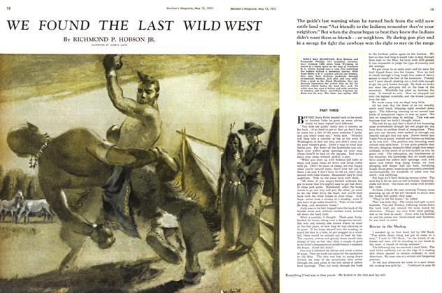 Article Preview: WE FOUND THE LAST WILD WEST, May 1951 | Maclean's