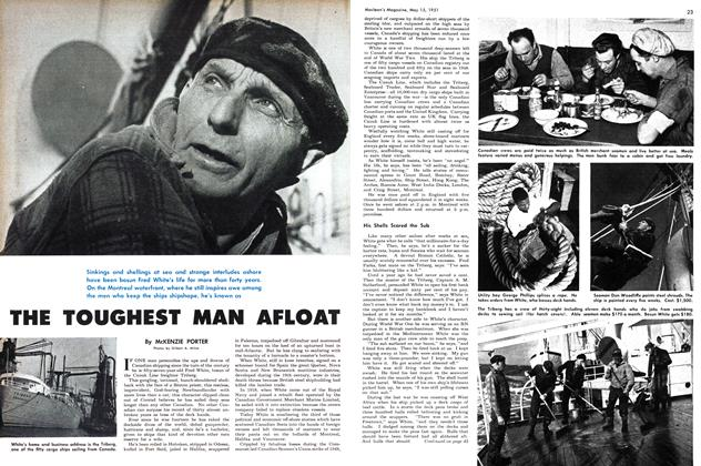 Article Preview: THE TOUGHEST MAN AFLOAT, May 1951 | Maclean's