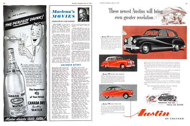Article Preview: Maclean's MOVIES, May 1951 | Maclean's