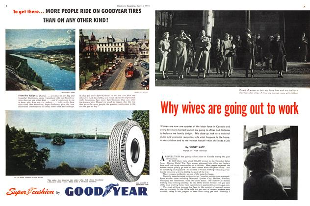 Article Preview: Why wives are going out to work, May 1951 | Maclean's