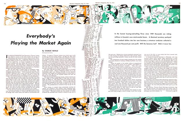 Article Preview: Everybody's Playing the Market Again, May 1951 | Maclean's