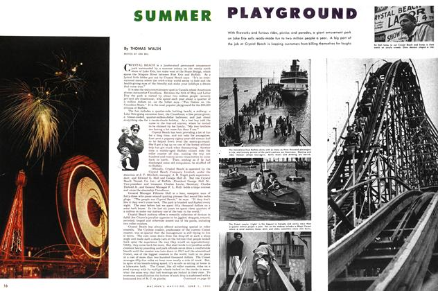 Article Preview: SUMMER PLAYGROUND, June 1951 | Maclean's