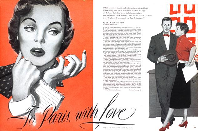 Article Preview: To Paris with Love, June 1951 | Maclean's
