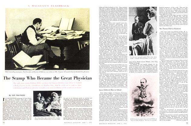 Article Preview: The Scamp Who Became the Great Physician, June 1951 | Maclean's