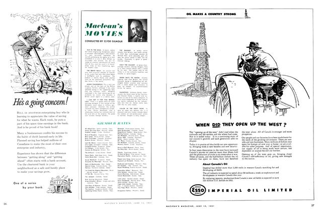 Article Preview: Maclean's MOVIES, June 1951 | Maclean's