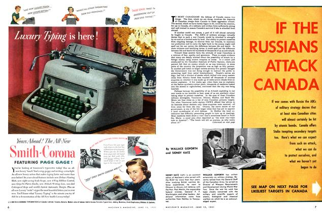Article Preview: IF THE RUSSIANS ATTACK CANADA, June 1951   Maclean's