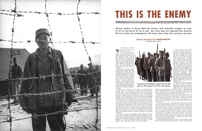 Article Preview: THIS IS THE ENEMY, July 1951 | Maclean's