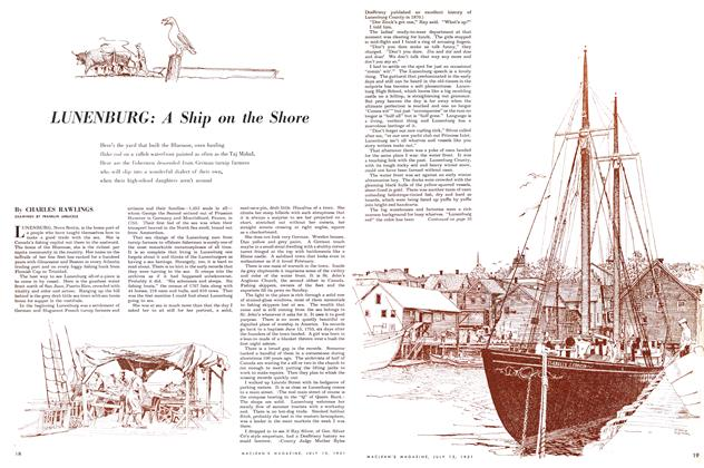 Article Preview: LUNENBURG: A Ship on the Shore, July 1951 | Maclean's