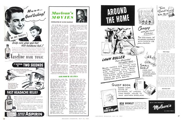 Article Preview: Maclean's MOVIES, July 1951 | Maclean's