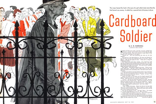 Article Preview: Cardboard Soldier, July 1951 | Maclean's