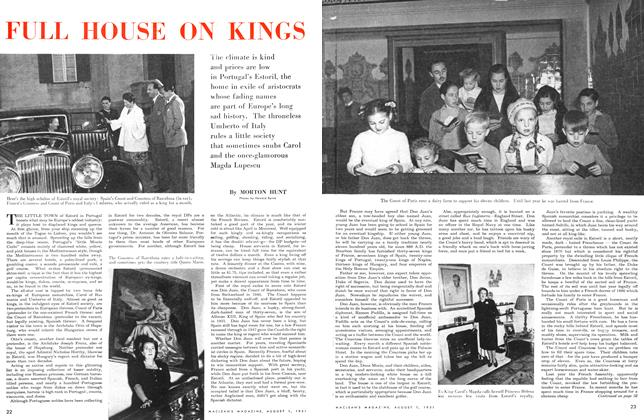 Article Preview: FULL HOUSE ON KINGS, August 1951 | Maclean's