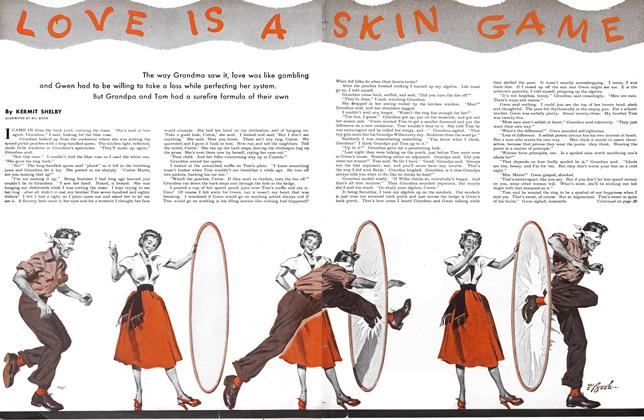 Article Preview: LOVE IS A SKIN GAME, August 1951 | Maclean's