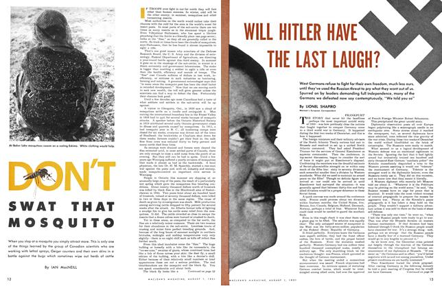 Article Preview: WILL HITLER HAVE THE LAST LAUGH?, August 1951 | Maclean's