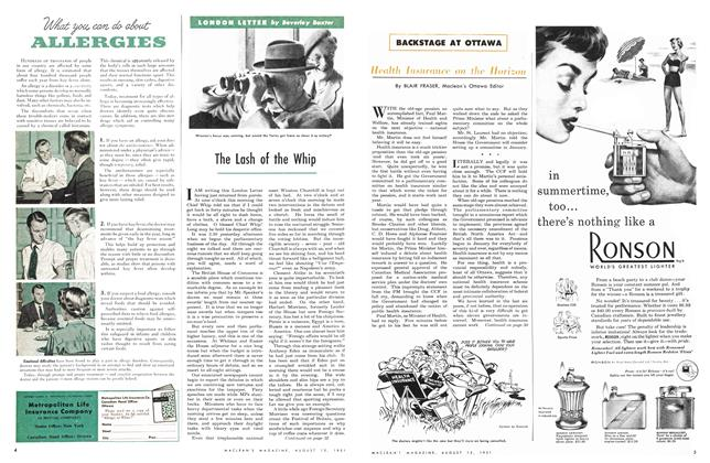 Article Preview: The Lash of the Whip, August 1951 | Maclean's