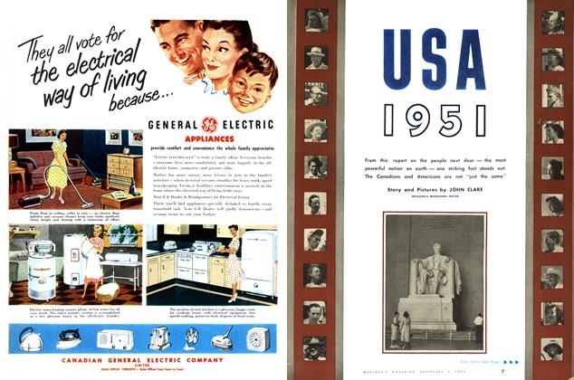 Article Preview: USA 1951, September 1951 | Maclean's