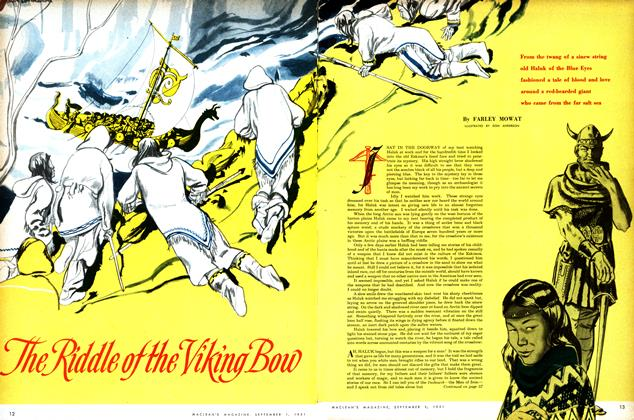 Article Preview: The Riddle of the Viking Bow, September 1951 | Maclean's