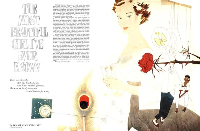 Article Preview: THE MOST BEAUTIFUL GIRL I'VE EVER KNOWN, September 1951 | Maclean's