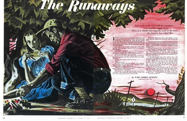 Article Preview: The Runaways, October 1951 | Maclean's