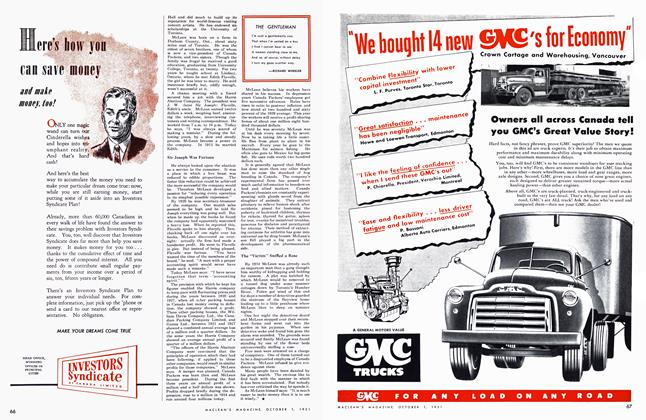 Article Preview: THE GENTLEMAN, October 1951 | Maclean's