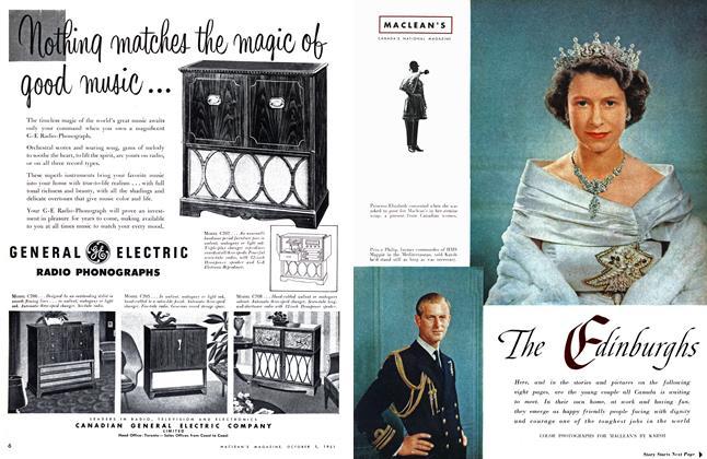 Article Preview: The Edinburghs, October 1951   Maclean's