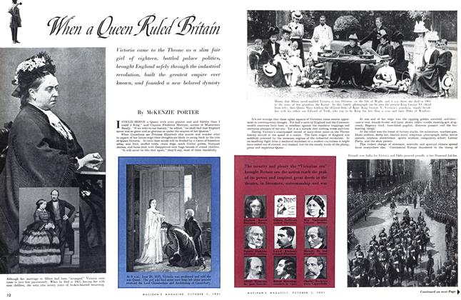 Article Preview: When a Queen Ruled Britain, October 1951 | Maclean's