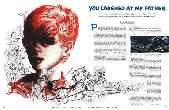 Article Preview: YOU LAUGHED AT MY FATHER, October 1951 | Maclean's
