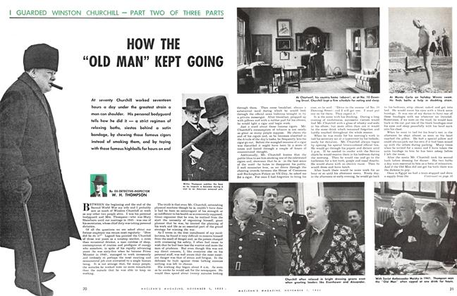 "Article Preview: HOW THE ""OLD MAN"" KEPT GOING, November 1951 
