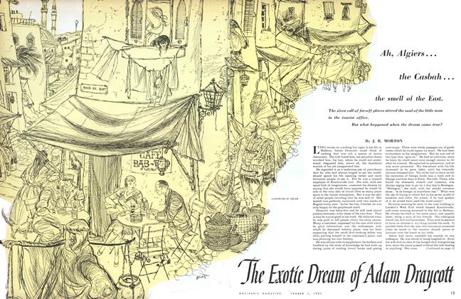 Article Preview: The Exotic Dream of Adam Draycott, November 1951 | Maclean's
