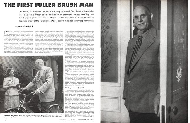 Article Preview: THE FIRST FULLER BRUSH MAN, November 1951 | Maclean's