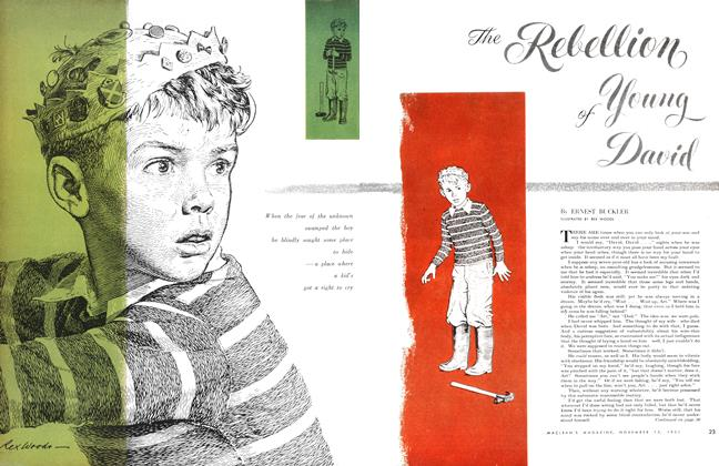 Article Preview: The Rebellion of Young David, November 1951 | Maclean's