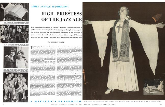 Article Preview: HIGH PRIESTESS OF THE JAZZ AGE, November 1951 | Maclean's