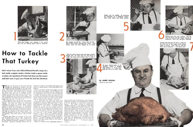 Article Preview: How to Tackle That Turkey, December 1951 | Maclean's