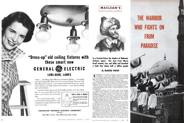Article Preview: THE WARRIOR WHO FIGHTS ON PARADISE, January 1952 | Maclean's
