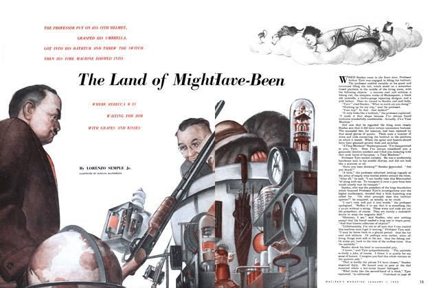 Article Preview: The Land of Might-Have-Been., January 1952 | Maclean's