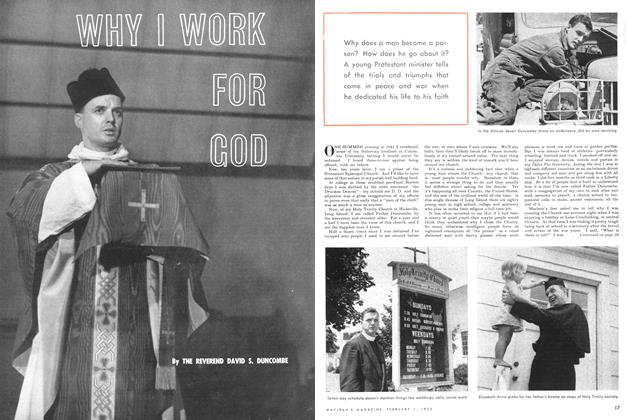 Article Preview: WHY I WORK FOR GOD, February 1952 | Maclean's