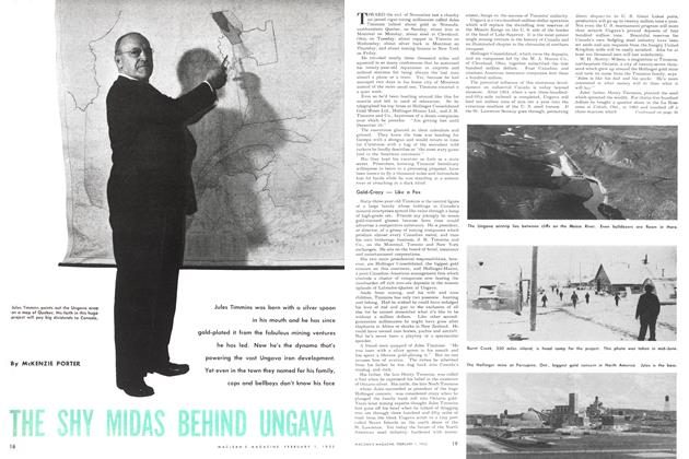 Article Preview: THE SHY MIDAS BEHIND UNGAVA, February 1952 | Maclean's