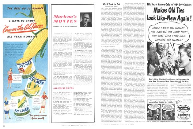 Article Preview: Maclean's MOVIES, February 1952 | Maclean's