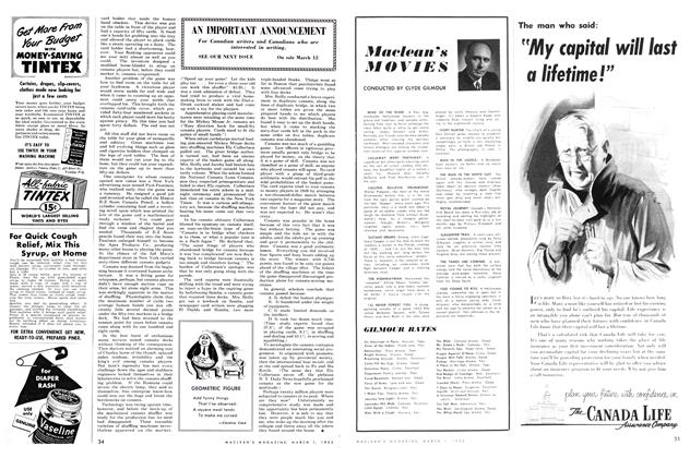 Article Preview: Maclean's MOVIES, March 1952 | Maclean's
