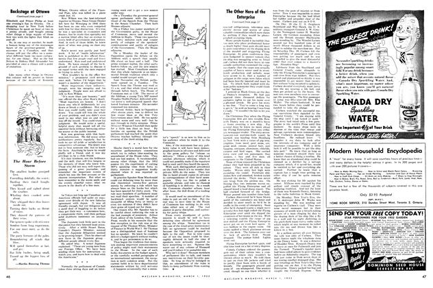 Article Preview: The Hour Before Storm, March 1952 | Maclean's