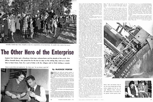 Article Preview: The Other Hero of the Enterprise, March 1952 | Maclean's